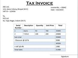sales tax invoice difference between tax invoice and retail invoice tax invoice vs