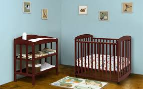 Mini Cribs With Changing Table Top 5 Safest Mini Cribs For Small Spaces Thinkbaby Org