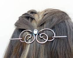 hair slide copper hair slide etsy