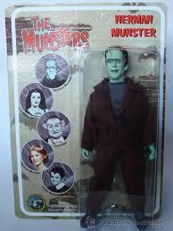 imagenes de la familia herman monster mego the munsters la familia monster herman comprar figuras y