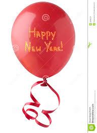 happy new year balloon happy new year balloon with glitter stock image image 35692271