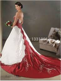 Wedding Dresses For Larger Ladies Plus Size Wedding Dresses Red White Clothing For Large Ladies