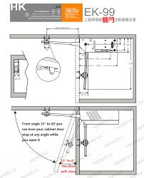 Kitchen Cabinet Door Stops - cabinet door drawing gh glass height amazing perfect project on