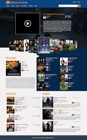 homepage movie online web design by ikwan rizki priandono on guru