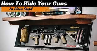 Gun Safe Bench Hidden Gun Storage Hide Your Guns In Plain Sight