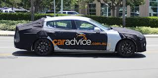 Rwd Kia Gt Stinger Rwd Sedan Set For 2017 Green Light For Australia