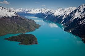Alaska lakes images Views of kenai lake jpg
