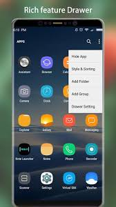 iphone 6 launcher for android note 8 launcher galaxy note8 launcher theme 1 8 app