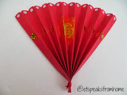 chinese new year home decorations chinese new year fan fans craft and kid activities