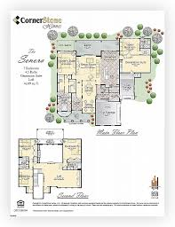 cornerstone homes floor plans floor plan with elevations beautiful cornerstone homes floor plan