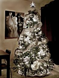 black and silver tree decorations my
