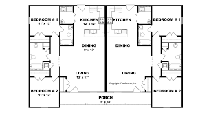 4plex apartment plan j0201 13 4
