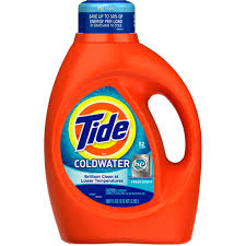 coldwater garden family restaurant tide liquid detergent coldwater for he machines fresh scent 52