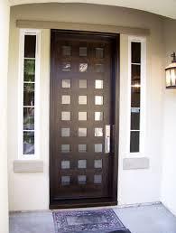 modern entry doors modern entry doors horizontal lite door with laminate glass