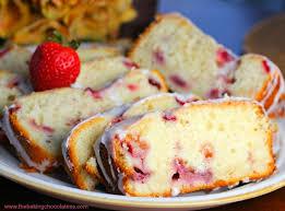 lemon strawberry pound cake u2013 the baking chocolatess