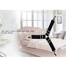 Hospital Couch Bed 4pcs Bed Sheet Holder Adjustable Fasteners Suspenders Gripper