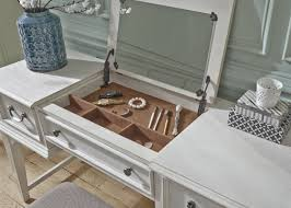 mirrored vanity desk as narrow space saver u2013 matt and jentry home