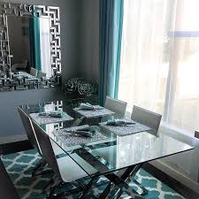 Axis Dining Table Thalyandrea S Dining Room Is 100 Zgallerie Features Our Axis