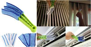 Window Blind Duster She Wraps Cleaning Clothes On Tongs And Solved One Of My Biggest