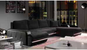 canap d angle et noir galaxy canapé d angle design noir droite docks du meuble