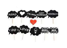 wedding photo booth props mr mrs photo booth props diy on a stick photography wedding