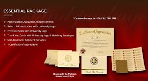 graduation packages 9 best announcement packages images on graduation