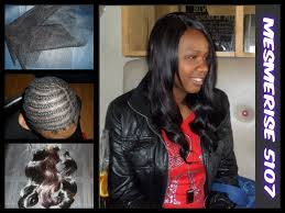 best way to sew in a weave for long hair net weave sew in with closure youtube