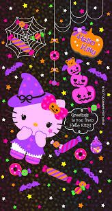 cute halloween background purple