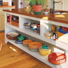 kitchen island open shelves home design ideas and pictures