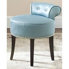 safavieh georgia teal vanity stool free shipping today