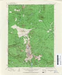 Map Of Central Oregon by