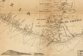 1820 Map Of United States by From Colony To Independence Mid 19th Century Maps Of Liberia
