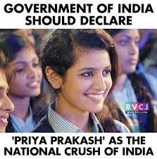Latest Memes - 22 memes on latest internet crush priya guys are going to love it