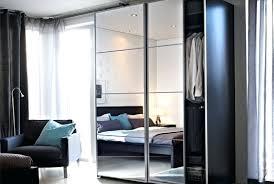 Sliding Mirror Closet Doors Ikea by Wardrobes Wardrobe Mirror Sliding Doors Ikea Auli Portes
