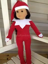 on the shelf doll american girl on a shelf christmas sewing tutorial