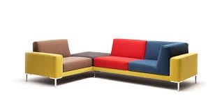 sofa bunt modular sofa contemporary fabric 4 seater 183 freistil