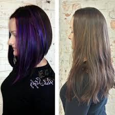 medium length angled hairstyles long front bob haircut angled long bob black hair collection