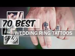 wedding ring tattoo ideas amazing designs for couples youtube