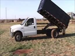 Ford F250 Truck Box - 2007 ford f350 super duty dump bed truck for sale sold at
