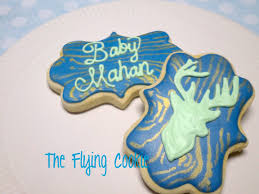 deer themed baby shower the flying cookie