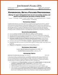 accounting resumes examples resume example and free resume maker