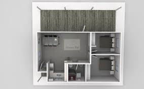 the joseph 2 bedroom granny flat design