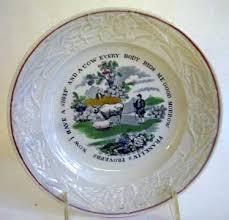 antique pottery 19th century staffordshire children s wares