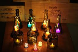 Wine Bottles With Lights Wine Bottles Lights The Celebration Society
