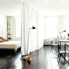 chambre salon separation chambre studio rideau sacparation chambre rideau blanc