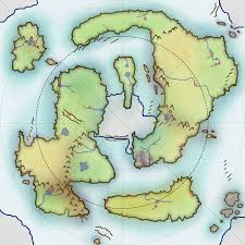World Map Biomes by Just Created This World Map For My D U0026d Campaign I Tried To Use