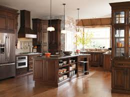 Diamond Kitchen Cabinets Wholesale Real Life Meets High Style With This Transitional Dark Cherry