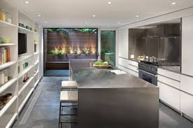 6 foot kitchen island village townhouse by lubrano ciavarra architects