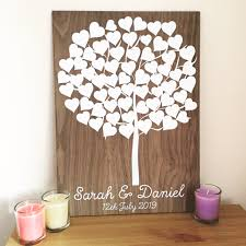 wedding tree guest book wedding tree guest book and personalised guest books mantamakes