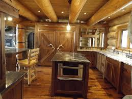 log cabin kitchens designs lavish home design